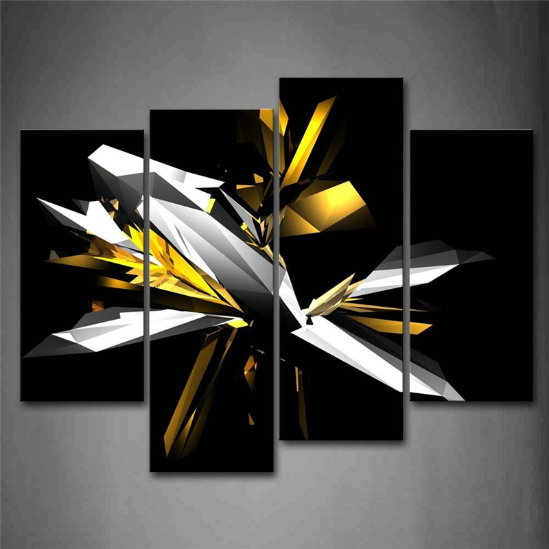 Black White And Yellow Bedroom popular black white and yellow wall art-buy cheap black white and
