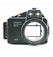 лучшая цена Meikon 40m/130ft Waterproof Underwater Camera Housing Case for Sony NEX-5N Can Be Used With 16mm Lens