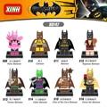 2017 nuevas llegadas conjunto dc super heroes vengadores marvel batman modelo building blocks figuras de acción ladrillos diy juguetes compatibles