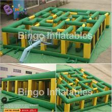 PVC 11M*9M inflatable maze for children,giant inflatable maze for events BG-G0404 Toy Sports
