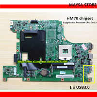 Original B590 laptop motherboard HM70 UMA PGA989 DDR3 Fit for Lenovo B590 Notebook PC system board Fully tested