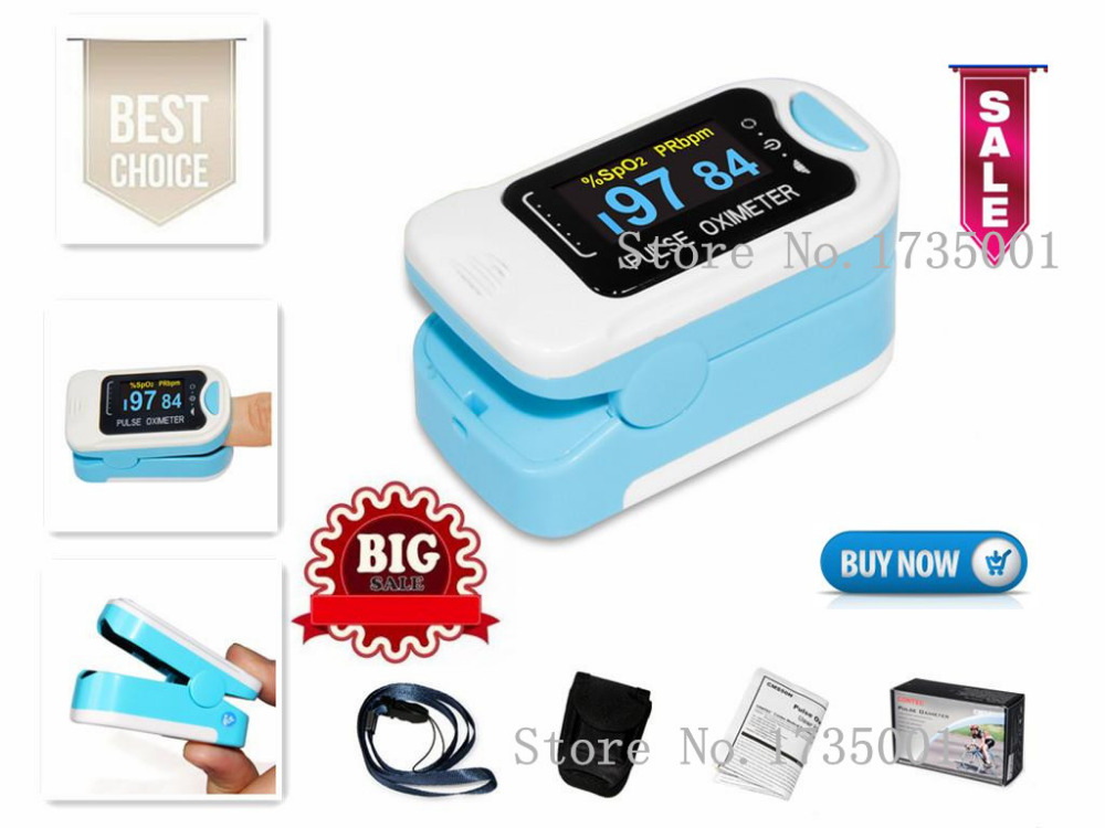 CMS50NA Pulse Oximeter Fingertip blood oxygen saturation,SpO2,PR monitor,OLED CE oled pulse finger fingertip oximeter blood spo2 pr heart rate monitor