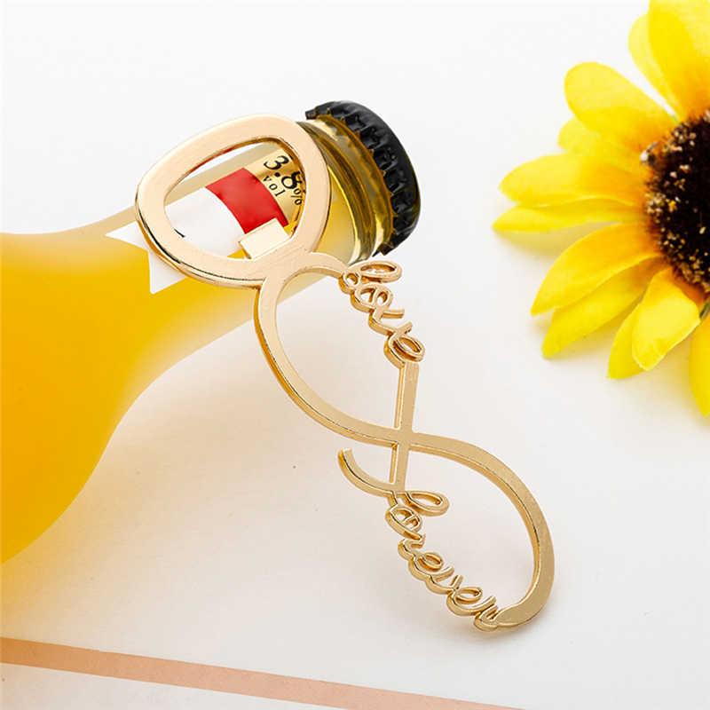 אהבה לנצח בקבוק חתונת פותחן טובות ומתנות חתונה מתנות חתונה אורחים מזכרות ספקי צד