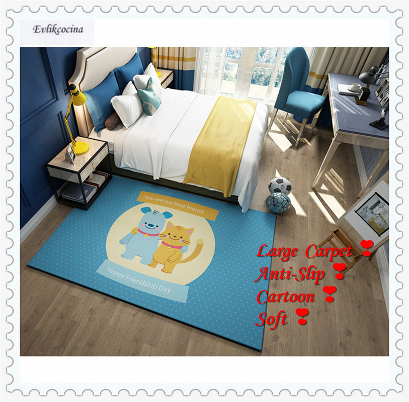 Free Shipping Good Friends Carpet Home Area Rug Floor Mat For