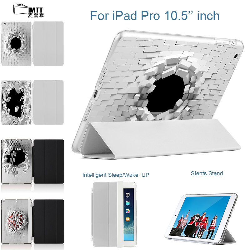 MTT Blasting Wallhole case for New iPad Pro 10.5 inch 2017 Smart Cover PU Leather Slim Coque Flip Tablet Case for iPad 10.5 Pro leather case flip cover for letv leeco le 2 le 2 pro black