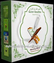 10PCS/LOT Islamic quran reading pen PQ15 with 6 books, Ibrahim word by word voice, Masha'llah
