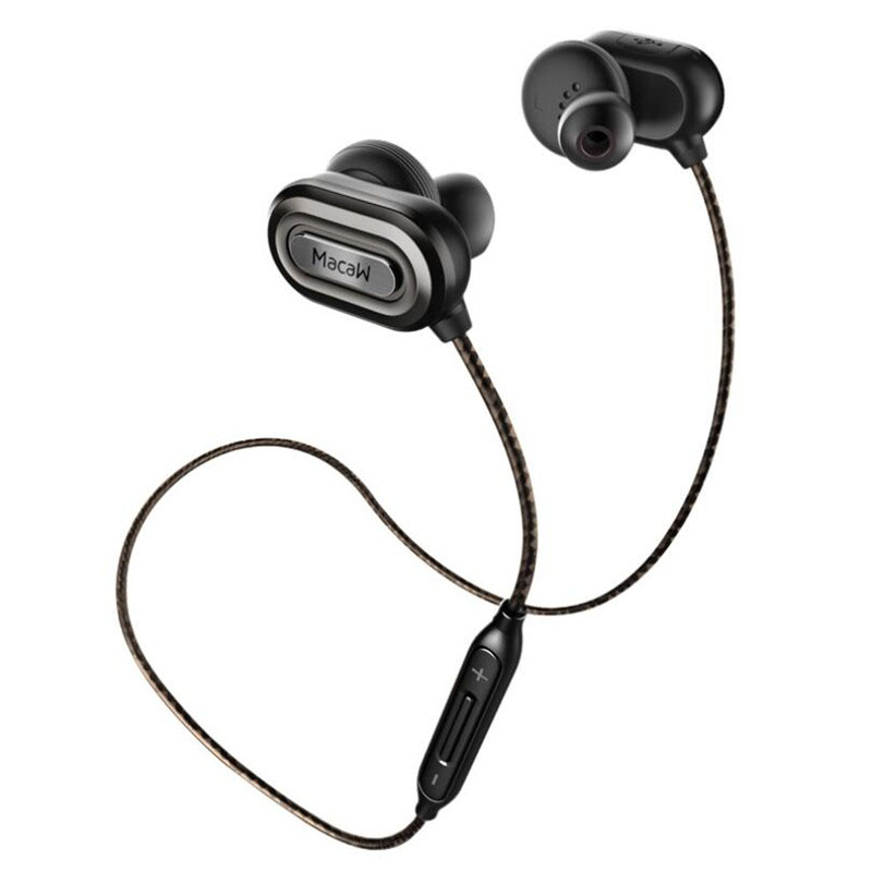 Macaw T1000 Bluetooth Earphone In Ear Wireless Earbuds CSR8645 apt-X Stereo Auriculares Running Sport bluetooth earphone macaw t1000 wireless bluetooth microphone sport hifi music in ear earbuds support hands free calls nylon braided cable