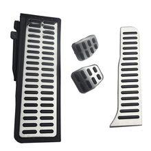 Auto-styling Edelstahl pedal Für vw Golf 5 6 Jetta MK5 MK6 Scirocco für Skoda Octavia