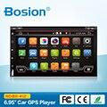 """Bosion 6.95 """"2 din Android 6.0 dvd-плеер автомобиля HD С Сенсорным Экраном 1080 P Видео GPS Стерео аудио с Экрана Зеркальное и OBD2"""