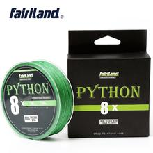 Fairiland Braided Fishing Line 8 Strands 100m 300m 500m Multifilament 100% PE 21-80LB Sea Freshwater Carp Wire