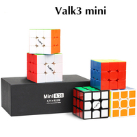 QiYi Mini VALK3 3x3x3 Professional Magic cube 47mm Speed Smooth Neo Cube Competition Puzzle cube Toy For Children Gifts