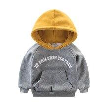 2018 New Spring Baby Boy Sweatshirts Thickening Boys Sweater Kids Boys Hoodies T-shirt Winter Warm 2-10T Children's Clothing