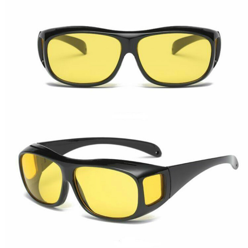 Unisex HD Vision Sun Glasses Night Vision Goggles Car Driving Glasses Polarized Sunglasses UV Protection Eyewear