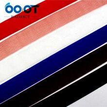 OOOT BAORJCT 1712306 38 мм 10 метров сплошной цвет стекаются Термальность передачи печатных grosgrain Свадебные аксессуары DIY материал