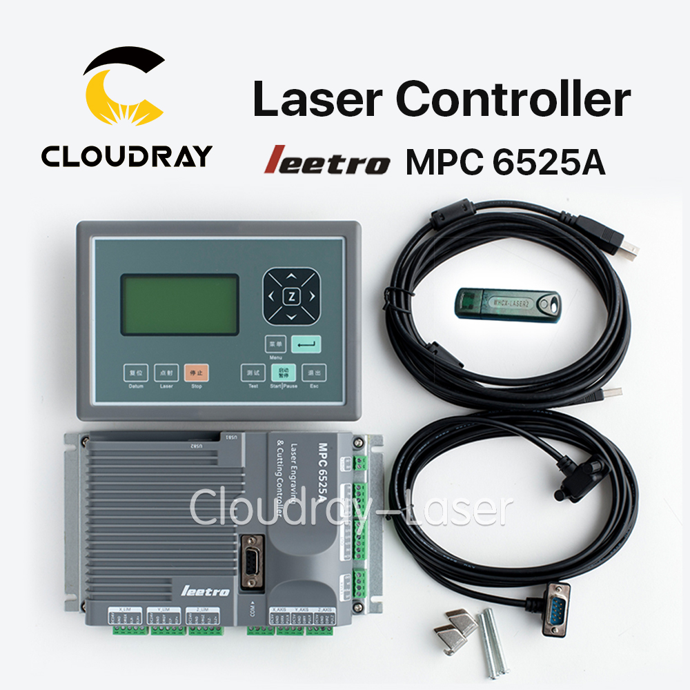 Cloudray Leetro MPC 6525A Co2 Laser Controller System for Laser Engraving and Cutting Machine leetro mpc6515 laser controller board for sale mpc6515c controller system