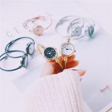 Элегантные женские часы браслет модные роскошные strainless стали женские наручные часы 2018 ulzzang Марка Золото Женские кварцевые часы
