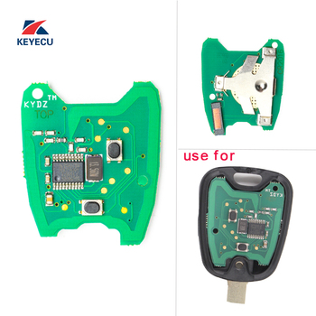 KEYECU Replacement KYDZ Remote Key PCB Circuit Board 433MHz PCF7961 for Peugeot 307, Citroen 73373067c