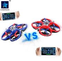 Cheerson cx60 gaming drones, Aplicativo de Telefone inteligente, Controle WiFi, Sensores infravermelhos, Jogo único e Duelo, Desempenho ágil