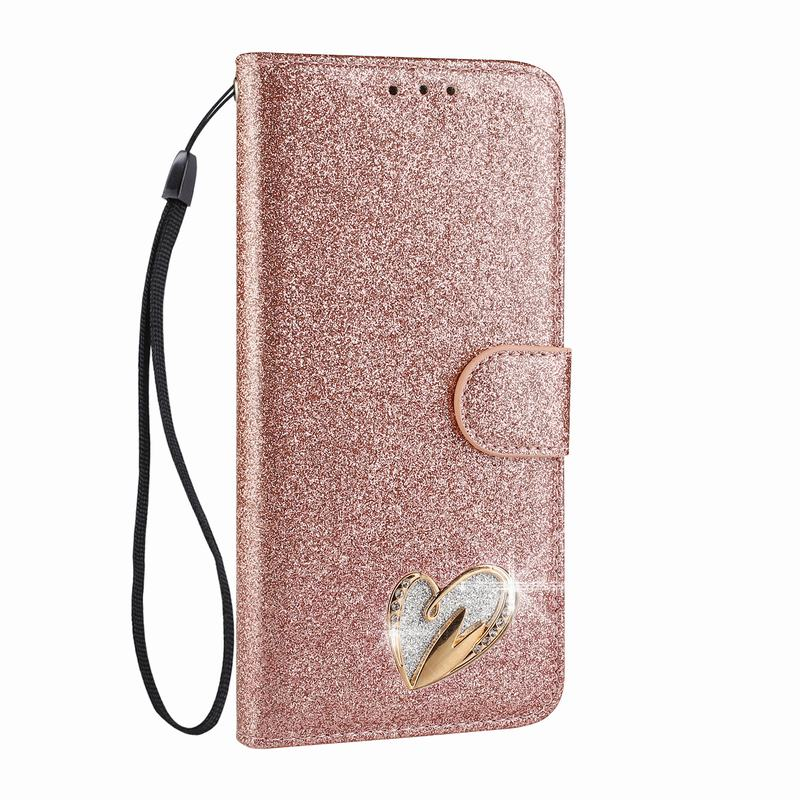For Funda Huawei P20 Lite Case Leather Wallet Flip Cover Stand Phone Coque For Huawei Nova 3E P20 Lite Phone Case Pink For Girls