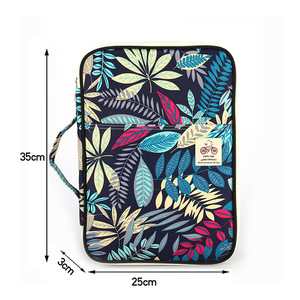 Image 2 - Dainayw Pencil Case Bag Waterproof Oxford Multifunction A4 File Folder Document Bag For Notebooks Pens iPad Computers