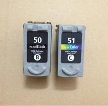 PG 50 CL 51 Black Color Ink Cartridge For Canon PG50 CL51 Pixma MP150 MP160 MP170