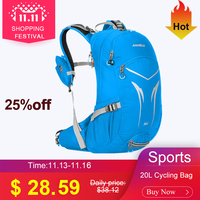 ANMEILU Outdoor Cycling Bag 20L Shoulder Backpack Bicycle Backpack Bike Bags Packsack Road Knapsack Riding Ride pack Nylon