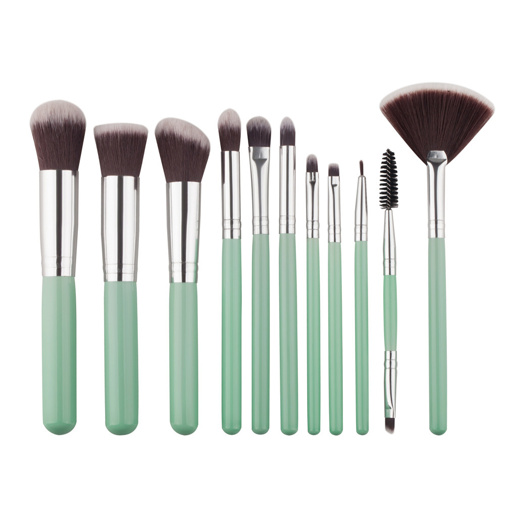 11pcs/set Unicorn Makeup Brushes Cosmetic Eyeshadow Palette Powder Highlighter Foundation Eyeliner Blush Tool Kit Maquiagem 7 pcs cosmetic face cream powder eyeshadow eyeliner makeup brushes set powder blusher foundation cosmetic tool drop shipping