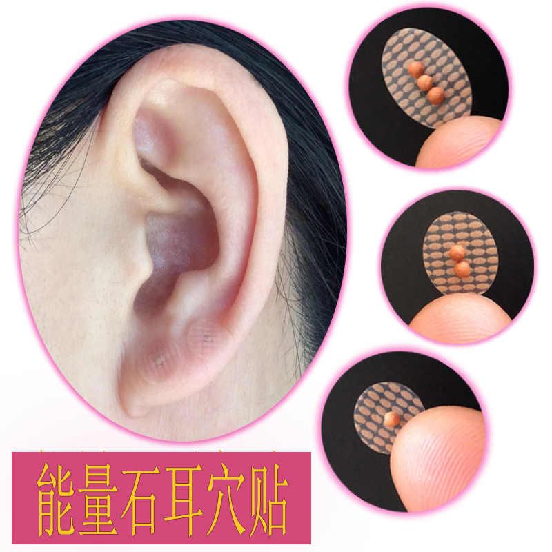 Точка на ухе для магнита для похудения