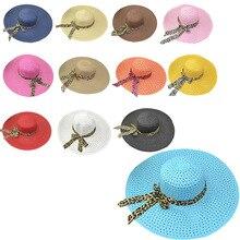 2019 New Floppy Fold Straw Sun Hats For Women Girls Chapeu De Palha Summer Hat Wide Brim Beach