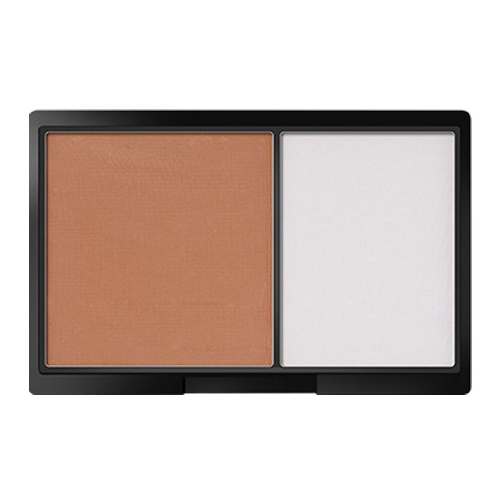 Magical Halo Double Colors Concealer Cream Contour Palette Kit Makeup Bronzer Highlighter Powder Trimming Contouring Palette