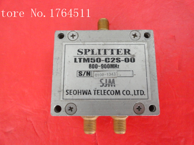 [BELLA] SEOHWA LTM50-C2S-00 800-900MHz A Two Supply Power Divider SMA