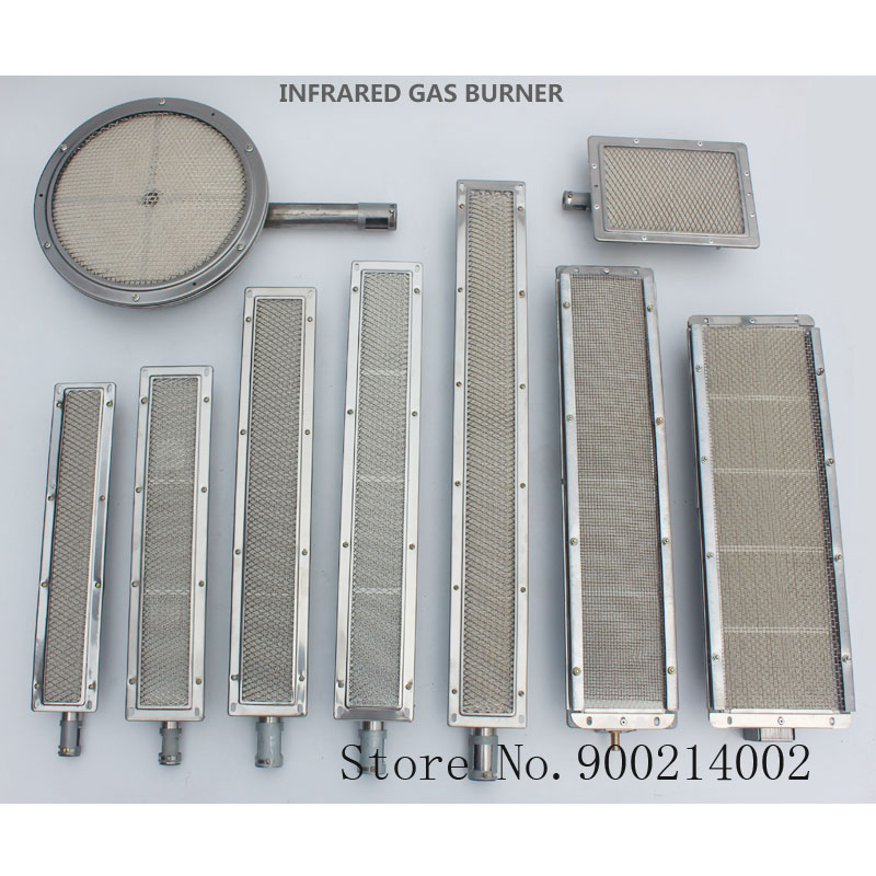Top quality barbecue BBQ infrared ceramic burner stainless steel ceramics gas burner alumunium plate infrared burner with nozzle-in Tool Parts from Tools