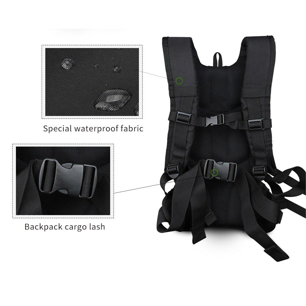 SHOOT moto vélo Selfie sac à dos sac de voyage pour GoPro Hero 7 6 5 Session Yi 4 K Sjcam Sj4000 H9r Action caméra sac à dos - 3
