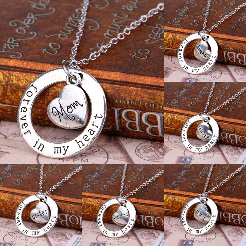 Family Member Gifts Silver Plated
