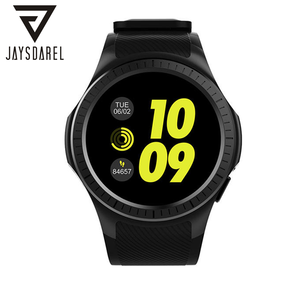 JAYSDAREL H2 Smart Watch Phone Heart Rate Monitor Support Nano SIM Card GPS Bluetooth Fitness Tracker for Android iOS jaysdarel heart rate blood pressure monitor smart watch no 1 gs8 sim card sms call bluetooth smart wristwatch for android ios