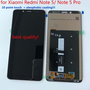Image 2 - Original AAA Quality LCD+Frame For Xiaomi Redmi Note 5 Pro LCD Display Screen Replacement For Redmi Note 5 LCD Snapdragon 636