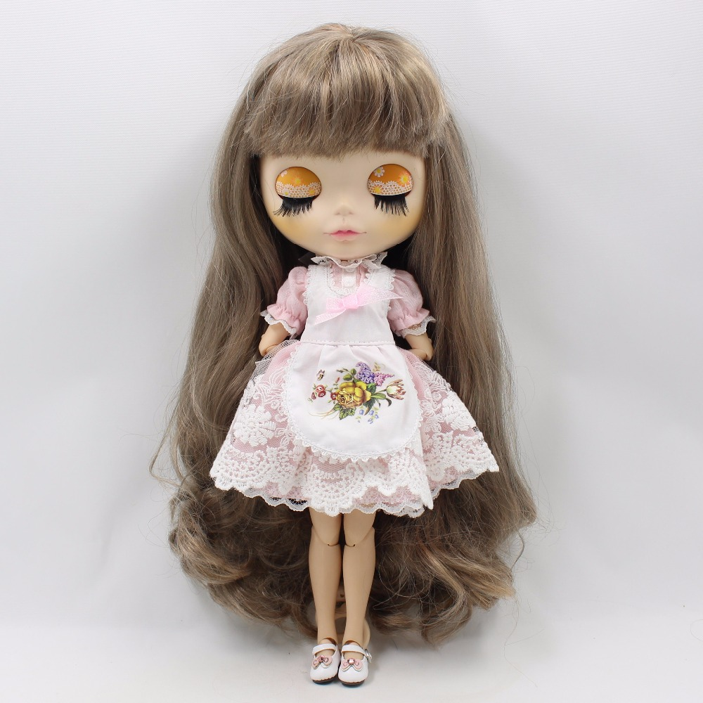 Neo Blythe Doll Apron Clothes 6