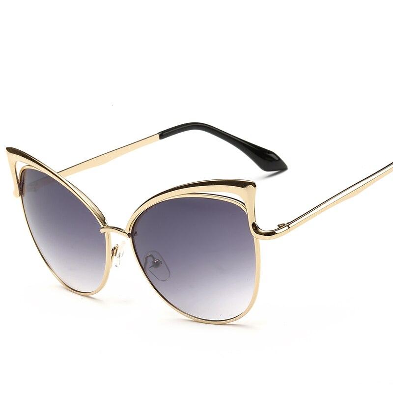 Nuevas gafas de sol con montura de metal real para mujer, gafas de - Accesorios para la ropa - foto 3