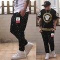 XXL -8XL Plus Size HIPHOP 11 UK men pants Loose Cotton hip hop pants Men(XXL 3XL 4XL 5XL 6XL 7XL 8XL)