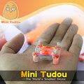 Minitudou toys rc helicóptero de control remoto de bolsillo drone 2.4g 4ch quadcopter micro