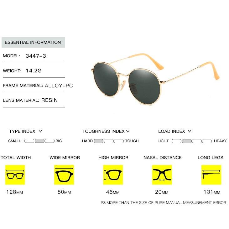 43a655b078 Simvey 2017 Brand Designer Round Wire Frame Mirror Sunglasses 3447 Retro  Women Men Polarized Sunglasses Circle Sunglasses Shades-in Sunglasses from  Apparel ...