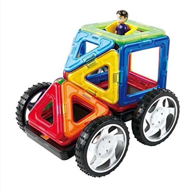 Aocoren 35 unids creador magnética magformers juguetes ladrillos niños educativos juguetes 3d diy bloques de construcción de juguetes para los niños