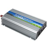NEW 20 48V 1000W Solar Pure Sine Wave Grid Tie Micro Inverter Output 190 260V 50hz