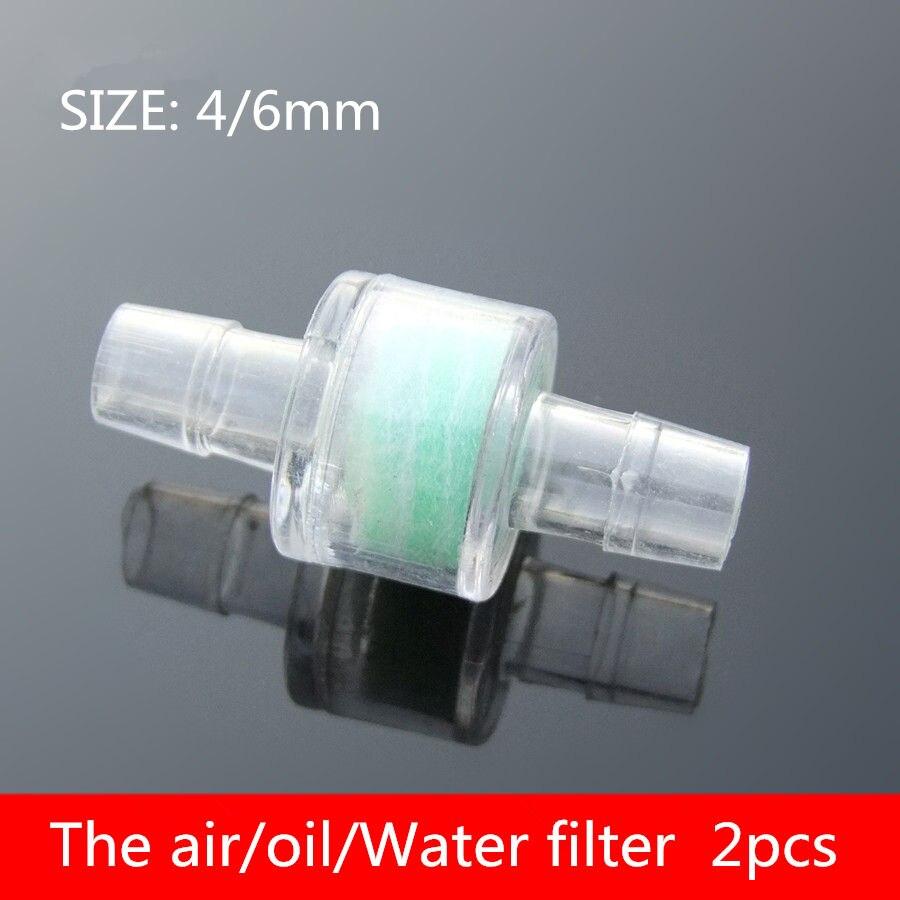 Home Fein 2 StÜcke Pc018 4/6mm Filter Bildschirm Saugfilter Pumpe Armaturen Der Luft/öl/wasserfilter Aquarium Filternetz Modell Zubehör Hochwertige Materialien