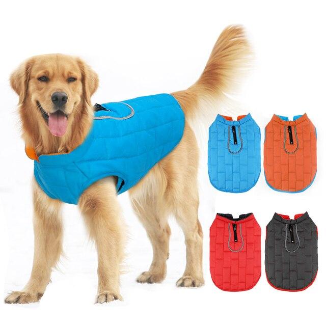 Cane di grandi dimensioni Giacca Impermeabile Vestiti Dell'animale Domestico Ves