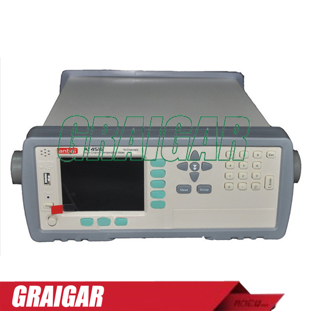At4516 Digital Thermometer 16 Channel High Temperature Data Logger Chart Recorder