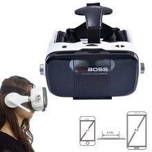 "Vr boss z5ความจริงเสมือนแว่นตา3dพร้อมไมโครโฟนและvrชุดหูฟังgoogleกระดาษแข็ง""4.7-6.0″นิ้วสำหรับiphoneโทรศัพท์android"