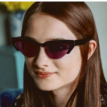PAWXFB 2019 Fashion Cat Eye Sunglasses Women Brand Designer Retro Clear Purple Sun Glasses Female Oculos de sol feminino UV400