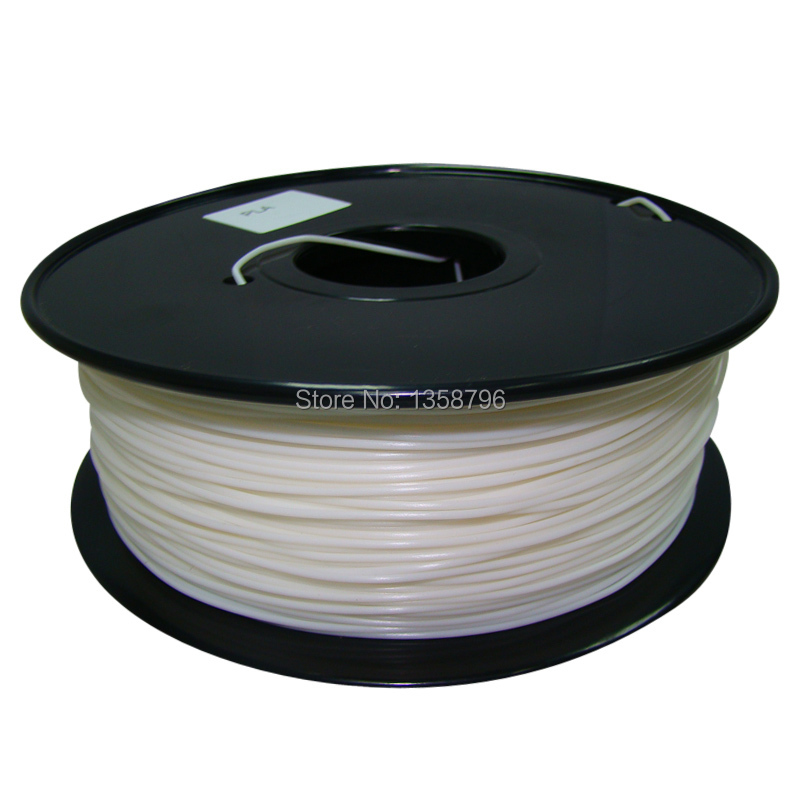 white color Makerbot/reprap/mendel/UP 3D printer filaments ABS/PLA 1.75mm/3mm 1kg(2.2lb) High quality cd iron maiden a matter of life and death