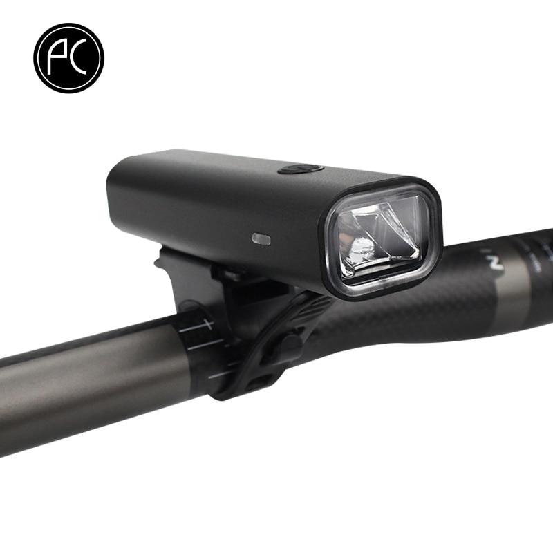 P Велоспорт Велосипедные фары USB аккумуляторная Алюминий сплав Водонепроницаемый CREE <font><b>LED</b></font> Велоспорт спереди Light 400 люмен 3 режима велосипед фона&#8230;